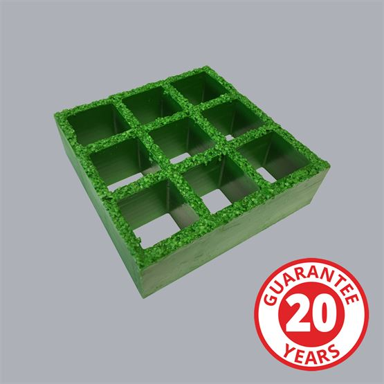 FibreGrid GRP Heavy Duty Embedded Grit Top Grating