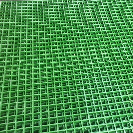 GRP Concave Top Grating - Green - 3660x1220x38mm